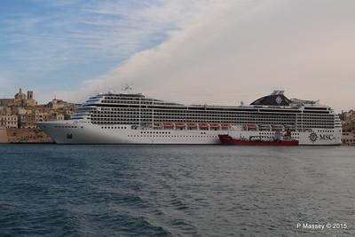 MSC POESIA Grand Harbour Valletta 24-11-2015 11-27-28