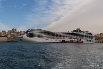 MSC POESIA Grand Harbour Valletta 24-11-2015 11-27-02