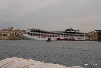 MSC POESIA Grand Harbour Valletta 24-11-2015 11-46-11