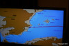 Route Map In Cabin TV Approaching Alicante MSC POESIA 26-11-2015 07-47-19