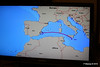 Route Map In Cabin TV Approaching Alicante MSC POESIA 26-11-2015 07-47-12