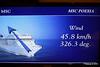 Wind In Cabin TV Approaching Alicante MSC POESIA 26-11-2015 07-46-34