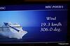 Wind In Cabin TV Approaching Alicante MSC POESIA 26-11-2015 07-46-49