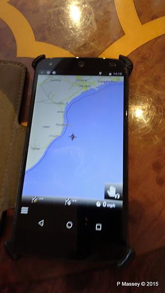 Position MSC POESIA Brazilian Coast 10-12-2015 13-10-42
