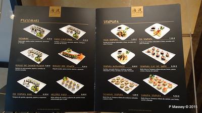 Menu Kaito Sushi Bar Manzoni Deck 7 MSC POESIA 26-11-2015 16-30-29