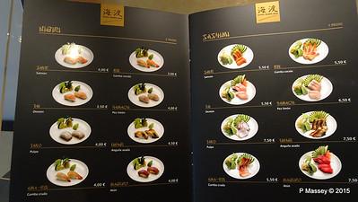Menu Kaito Sushi Bar Manzoni Deck 7 MSC POESIA 26-11-2015 16-30-14
