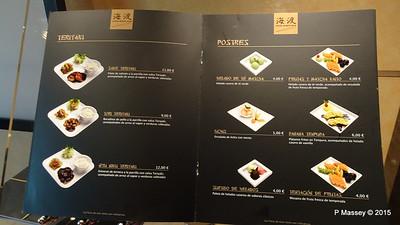 Menu Kaito Sushi Bar Manzoni Deck 7 MSC POESIA 26-11-2015 16-30-39