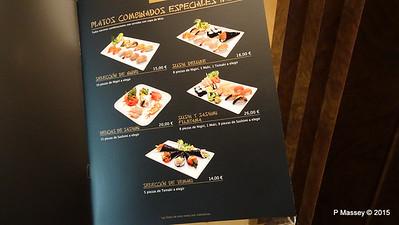 Menu Kaito Sushi Bar Manzoni Deck 7 MSC POESIA 26-11-2015 16-29-47