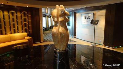 Stb Sculpture Kaito Sushi Bar Library Manzoni Deck 7 MSC POESIA 26-11-2015 16-31-24