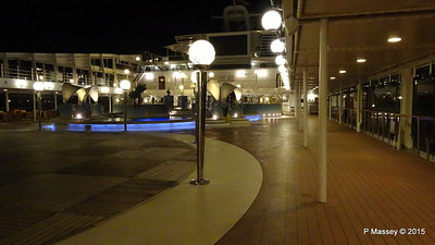 Coral Bay Pool Area Night MSC POESIA PDM 11-12-2015 23-02-05