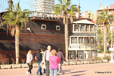 Replica SANTISIMA TRINIDAD Galleon Alicante 26-11-2015 10-25-26