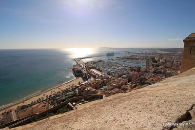 MSC POESIA & Alicante from Castillo Santa Barbara 26-11-2015 12-50-30