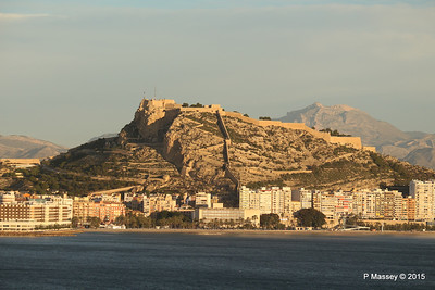 Alicante From Offshore 26 Nov 2015