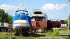 Boatyard Shipyard Graveyard Rio Lujan Parana Delta 13-12-2015 16-12-02