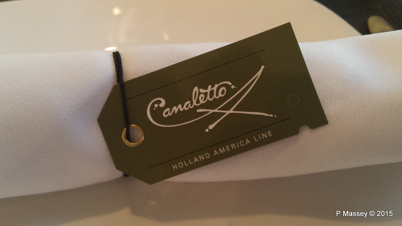 Canaletto Italian Restaurant in Lido NIEUW AMSTERDAM 23-07-2015 20-08-004