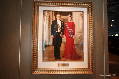 King Willem-Alexander Queen Maxima NIEUW AMSTERDAM 24-07-2015 08-14-050