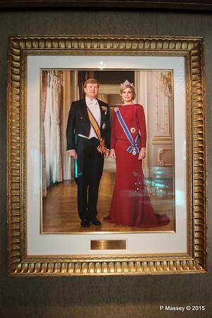 King Willem-Alexander Queen Maxima NIEUW AMSTERDAM 26-07-2015 06-31-15