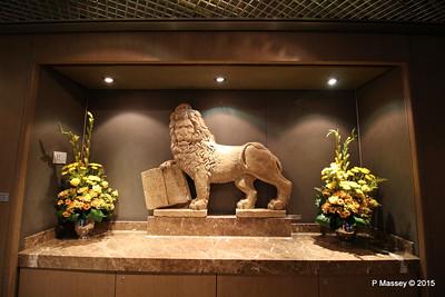 Lion of St Mark Verona Marble Replica NIEUW AMSTERDAM 25-07-2015 14-31-58