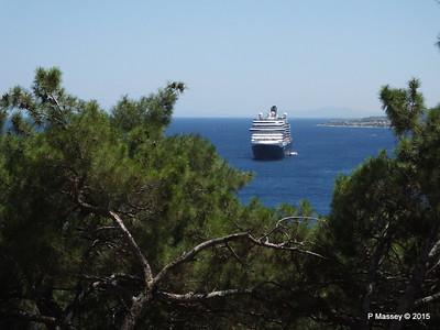 NIEUW AMSTERDAM from Perimeter Castle of Mytilene 21-07-2015 11-35-45