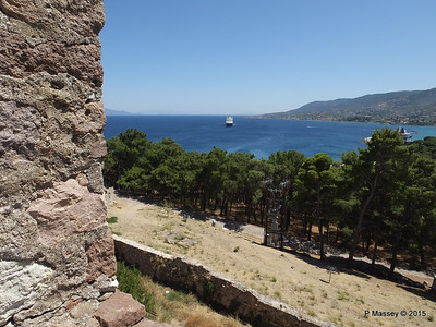 NIEUW AMSTERDAM from South Wall Castle of Mytilene 21-07-2015 11-53-08