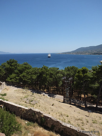 NIEUW AMSTERDAM from South Wall Castle of Mytilene 21-07-2015 11-52-50