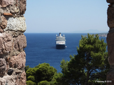 NIEUW AMSTERDAM through Castle of Mytilene South Wall Parapets 21-07-2015 11-56-17