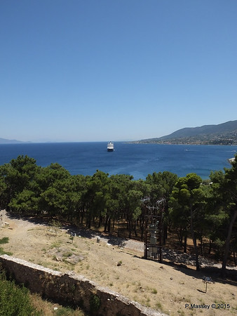 NIEUW AMSTERDAM from South Wall Castle of Mytilene 21-07-2015 11-53-00