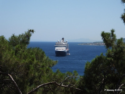 NIEUW AMSTERDAM from Perimeter Castle of Mytilene 21-07-2015 11-35-36