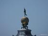 Atlas Bronze Globe Bernando Falcone Punta Della Dogana Venice 27-07-2015 10-13-00
