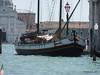 Sailing Boat tied alongside Punta Della Dogana Venice 27-07-2015 10-17-21