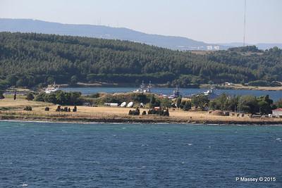 Turkish Navy Tuzla Class Patrol Vessels & Tug nr Canakkale 19-07-2015 07-25-05