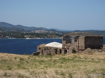 Looking North Castle of Mytilene 21-07-2015 11-46-42