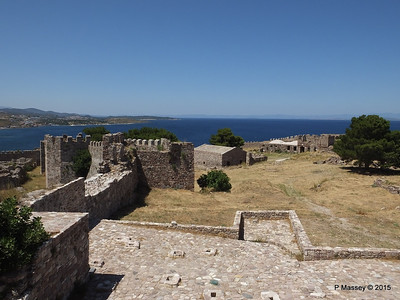 Looking North Castle of Mytilene 21-07-2015 11-54-41