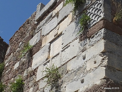 Inscription of the Ottoman Period South Gate Castle of Mytilene 21-07-2015 11-37-020