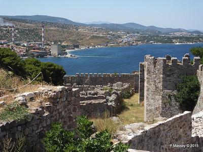 Looking North Castle of Mytilene 21-07-2015 11-54-38