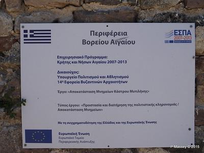 European Funding Restoration Castle of Mytilene 21-07-2015 11-50-03