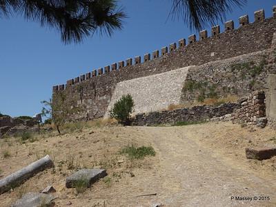 South Perimeter Castle of Mytilene 21-07-2015 11-34-37