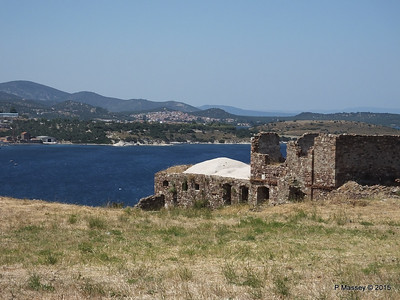 Looking North Castle of Mytilene 21-07-2015 11-46-43