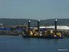 MP 26 Strabag Spud Leg Barge Pontoon Cherbourg PDM 29-06-2015 15-05-16