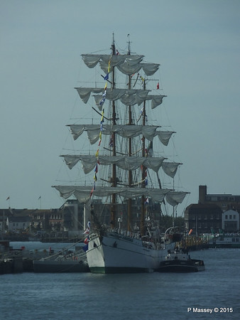 Mexican Navy Training Ship CUAUHTEMOC Portsmouth PDM 29-06-2015 08-01-59