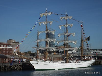 Mexican Navy Training Ship CUAUHTEMOC Portsmouth PDM 29-06-2015 17-42-38