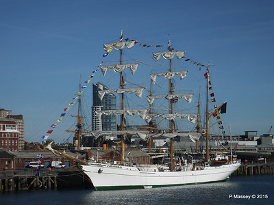 Mexican Navy Training Ship CUAUHTEMOC Portsmouth PDM 29-06-2015 17-42-40