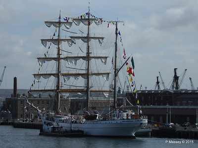 Mexican Navy Training Ship CUAUHTEMOC Portsmouth PDM 29-06-2015 08-06-36