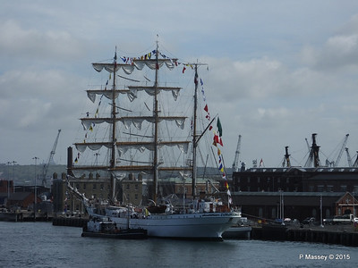 Mexican Navy Training Ship CUAUHTEMOC Portsmouth PDM 29-06-2015 08-06-40