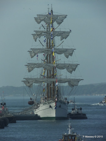 Mexican Navy Training Ship CUAUHTEMOC Portsmouth PDM 29-06-2015 08-00-56