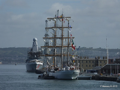 Mexican Navy Training Ship CUAUHTEMOC Portsmouth PDM 29-06-2015 08-07-34