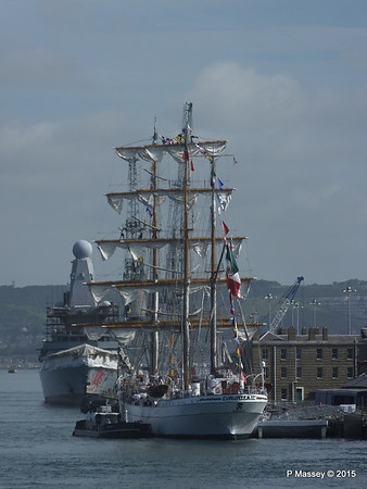 Mexican Navy Training Ship CUAUHTEMOC Portsmouth PDM 29-06-2015 08-07-40