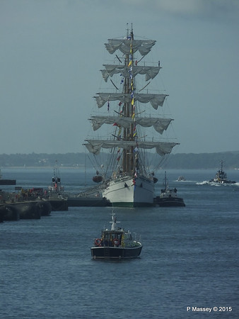 Mexican Navy Training Ship CUAUHTEMOC Portsmouth PDM 29-06-2015 08-00-59
