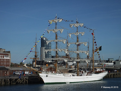 Mexican Navy Training Ship CUAUHTEMOC Portsmouth PDM 29-06-2015 17-42-41