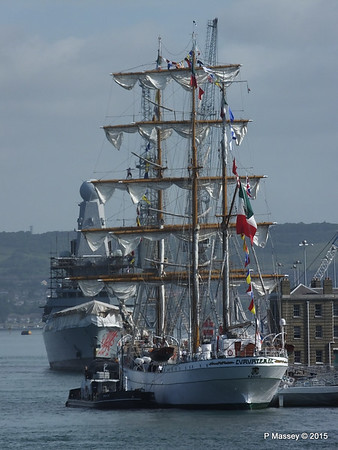 Mexican Navy Training Ship CUAUHTEMOC Portsmouth PDM 29-06-2015 08-07-43
